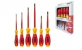 Schraubendreher Set SoftFinish electric slimFix, Schlitz, Phillips 6-tlg. (3201 K6) - 35389