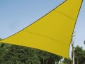 VOILE SOLAIRE - TRIANGLE - 5 x 5 x 5 m - COULEUR: VERT LIME