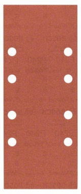 Bosch Bandes abrasives Best for Wood, 10 unités, 8 trous, 93 x 230 mm, 240