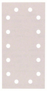 Bosch Bandes abrasives Best for Paint, 10 unités, 14 trous, Klett, 115 x 230 mm, 120