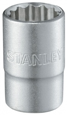 "Stanley Douille 1/2"" 12 pans - 1-17-055"