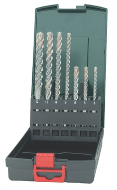 Metabo Coffret de 7 forets SDS-plus Pro 4 Premium - 62624600