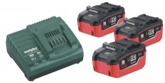 Metabo Set de base 3 x 5,5 Ah LiHD - 685074000