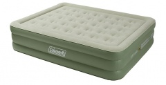 Coleman Maxi Comfort Bed Raised King, Matelas gonflable, vert/crème - 2000030167