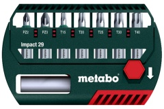 Metabo Coffret d\'embouts Impact 29