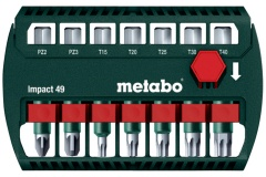 Metabo Coffret d\'embouts Impact 49