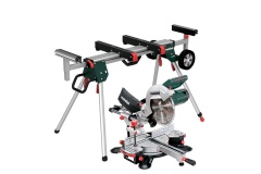 Metabo Metabo Scie � onglet et radiale KGS 254 M  + Socle pour scie � onglets KSU 251 - 690967000