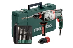 Metabo UHEV 2860-2 Quick Marteau multifonctions + 10-accesoires.
