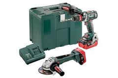 Metabo Combo Set 2.4.5 18 V BL LiHD Accu-machines in de set MetaLoc, BS 18 LTX BL Q I + WB 18 LTX BL 125 Quick - 685094000