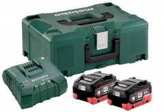 Metabo Set di base 2 x LiHD 8,0 Ah + ASC Ultra + Metaloc - 685131000