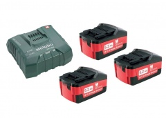 Metabo Set de base de batteries avec chargeur 3 x 5.2 Ah ASC Ultra - 685061000