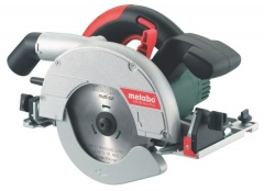 Metabo Kit Scie Circulaire portative et  plongeante KSE 55 Vario Plus + Rail de guidage + Metabox
