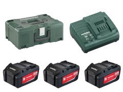 Metabo Set de base 3 x 4.0 Ah + Metaloc - 685063000