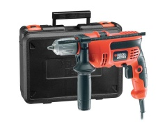 Black & Decker Perceuse à percussion 650W KR654CREK