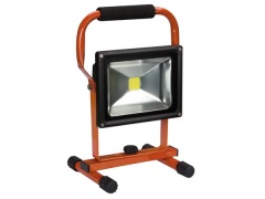 Perel PROJECTEUR DE CHANTIER RECHARGEABLE LED - 20 W - 6500 K
