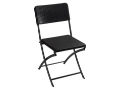 Toolland CHAISE PLIANTE - IMITATION ROTIN