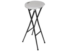 Toolland TABOURET DE BAR PLIANT