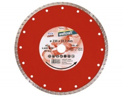 Wolfcraft Disque diamant, Turbo 115x22,2 mm