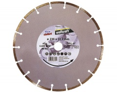 Wolfcraft Disque diamant pr meuleuses 125x22,2 mm Classic-Universal