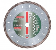 "Metabo Meule de tronçonnage diamantée, 180 x 2,5 x 22,23 mm, ""professional"", ""UP-T"", Turbo, universelle"