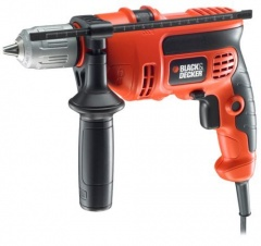 Black & Decker CD714CRES-QS Perceuse à percussion 13mm SSBF - 710 W