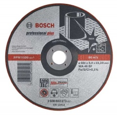 Bosch Meule semi-flexible WA 46 BF, 125 mm, 22,23 mm, 3,0 mm