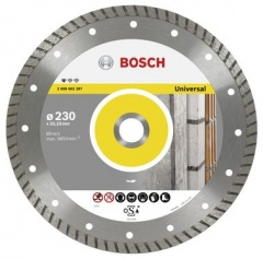 Bosch Disque à tronçonner diamanté Standard for Universal Turbo 125 x 22,23 x 2 x 10 mm