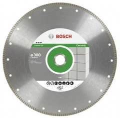 Bosch Disque à tronçonner diamanté Best for Ceramic Extraclean Turbo, 230 x 25,40 x 1,8 x 7 mm