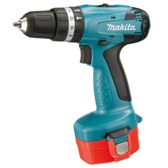 Makita 8281DWAE Perceuse visseuse à percussion Ø 10 mm 14,4 V Ni-Cd
