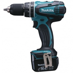 Makita Perceuse visseuse à percussion Li-ion 14 V 3 Ah Ø 13 mm