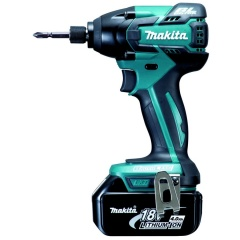 Makita Visseuse à chocs 18 V Li-Ion 4 Ah 1/4\'\' 160 Nm - DTD129RMJ