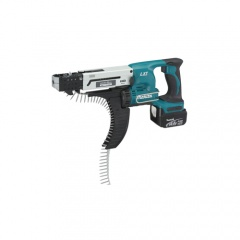 Makita Visseuse automatique 14,4 V Li-Ion 4 Ah 4 x 25 à 55 mm - DFR540RMJ