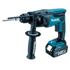 Makita Perforateur SDS-Plus 18 V Li-Ion 4 Ah 16 mm - DHR165RMJ