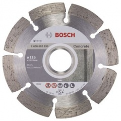 Bosch Disque à tronçonner diamanté Standard for Concrete 115 x 22,23 x 1,6 x 10 mm