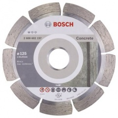 Bosch Disque à tronçonner diamanté Standard for Concrete 125 x 22,23 x 1,6 x 10 mm