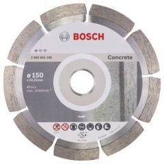 Bosch Disque à tronçonner diamanté Standard for Concrete 150 x 22,23 x 2 x 10 mm