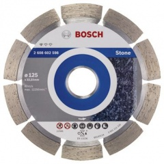 Bosch Disco diamantato Standard for Stone 125 x 22,23 x 1,6 x 10 mm