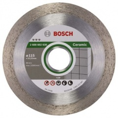 Bosch Disque à tronçonner diamanté Best for Ceramic 115 x 22,23 x 1,8 x 10 mm
