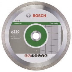 Bosch Disque à tronçonner diamanté Best for Ceramic 230 x 22,23 x 2,4 x 10 mm