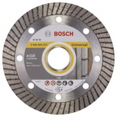 Bosch Disque à tronçonner diamanté Best for Universal Turbo 115 x 22,23 x 2,2 x 12 mm