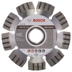 Bosch Disque à tronçonner diamanté Best for Abrasive 115 x 22,23 x 2,2 x 12 mm