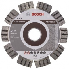 Bosch Disque à tronçonner diamanté Best for Abrasive 125 x 22,23 x 2,2 x 12 mm