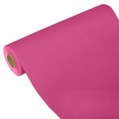 "Papstar 4 Chemin de table, aspect tissu, PV-tissu ""ROYAL Collection"" 24 m x 40 cm fuchsia - 84971"