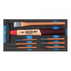 Gedore Check-Tool insert avec assortiment - 1500 CT1-350