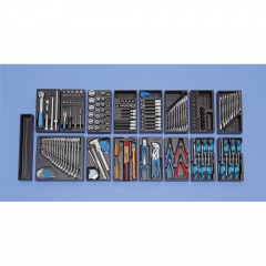 Gedore Assortiment modulaire moyen, 207 outils - S 1500 ES-02