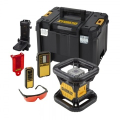 DeWALT 18,0 v Rotationslaser mit Doppel-Lot – roter Laser (Basisversion) - DCE079NR-XJ