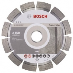 Bosch Disque à tronçonner diamanté Expert for Concrete 150 x 22,23 x 2,4 x 12 mm