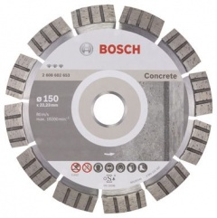 Bosch Disque à tronçonner diamanté Best for Concrete 150 x 22,23 x 2,4 x 12 mm