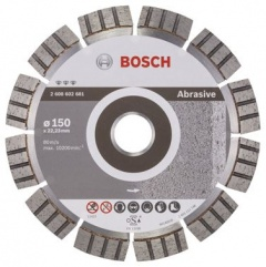 Bosch Disque à tronçonner diamanté Best for Abrasive 150 x 22,23 x 2,4 x 12 mm