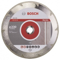 Bosch Disque à tronçonner diamanté Best for Marble 230 x 22,23 x 2,2 x 3 mm